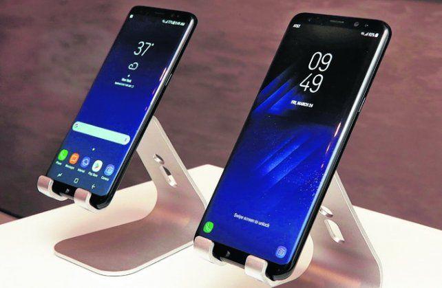 galaxy s8 y galaxi s8 +. Los nuevos smartphones de Samsung.