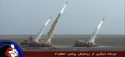 Irán probó con éxito misiles capaces  de alcanzar el territorio de Israel
