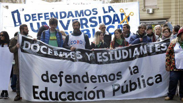 Los docentes universitarios se movilizarán en estos días.