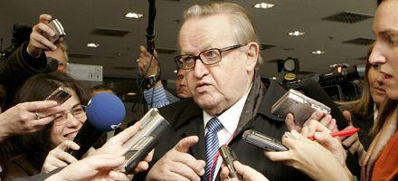 Nobel de la Paz para el ex presidente finlandés y mediador Martti Ahtisaari