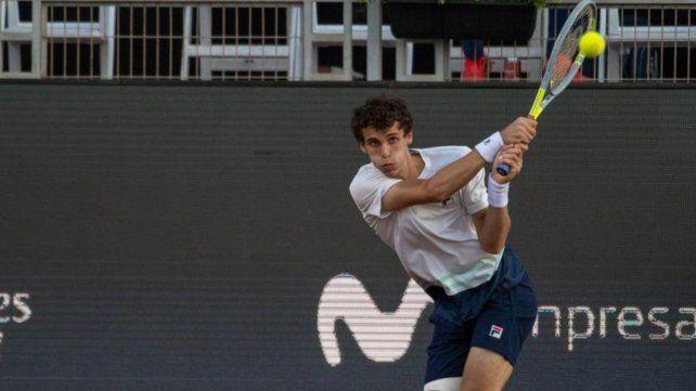 Cerúndolo jugará en cuartos de final ante el neerlandés Botic Van De Zandschulp.