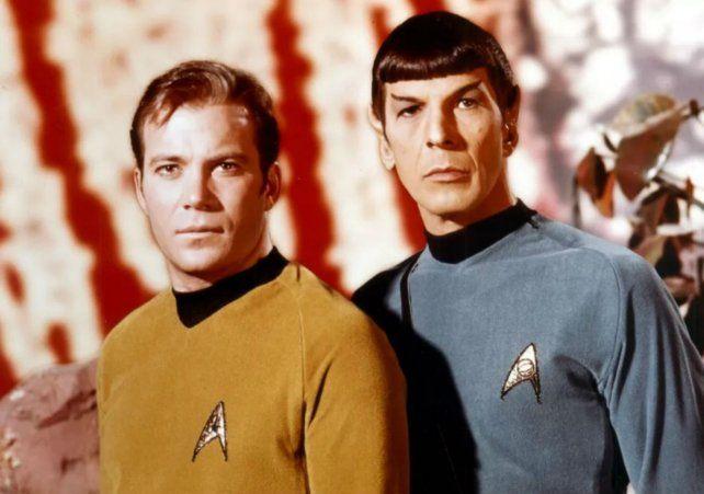 Willimam Shatner y Leonard Nimoy