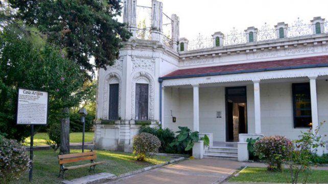Pensadas para ese lugar. Las cuatro obras se realizan en diferentes ambientes de la Casa Arijón.