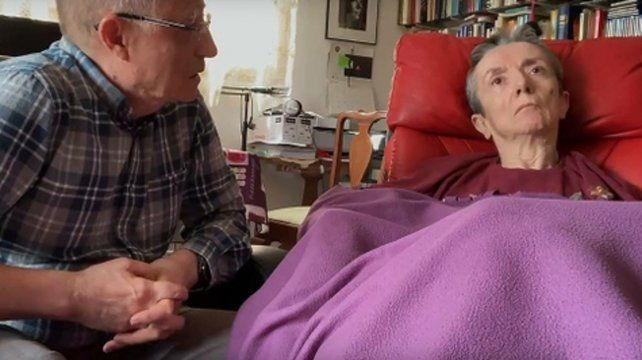 hasta que la muerte los separe. Angel Hernández y su esposa María José Carrasco