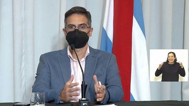 El director general de Epidemiología de Entre Ríos