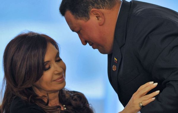 Cristina y Chávez
