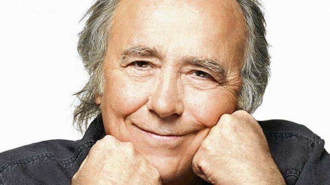 El cantautor de 74 años arranca su tour nacional en Rosario.