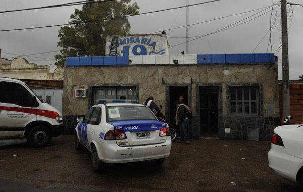 Los asaltantes fueron trasladados a la Comisaria 19 de Rosario.