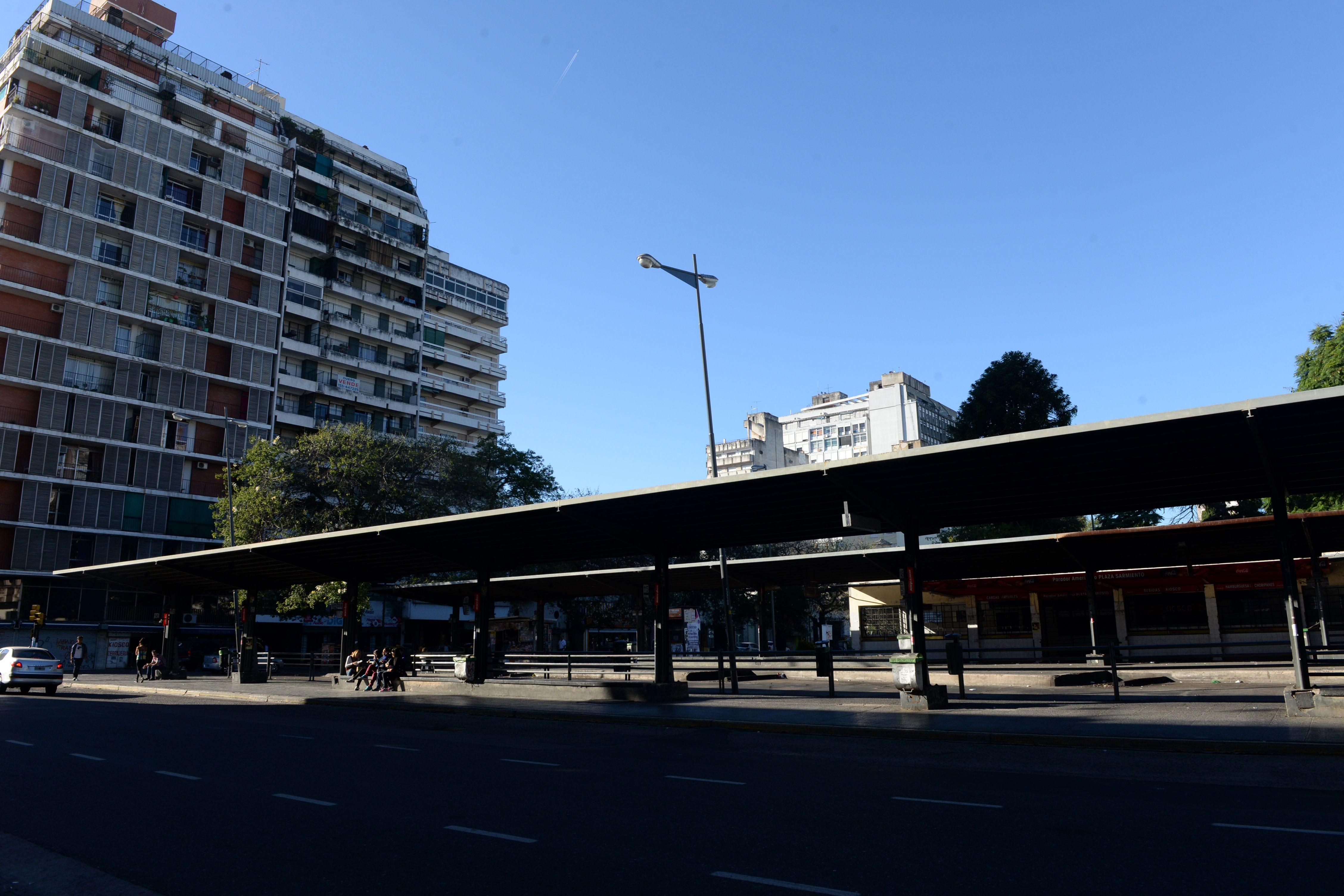 La plaza Sarmiento