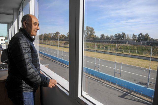 Choco Díaz espera plasmar una batería de ideas en el autódromo Juan Manuel Fangio.