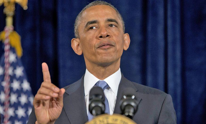 """Obama dijo que la vigilancia no se aplica a ciudadanos de EEUU: """"Nadie está escuchando llamadas""""."""