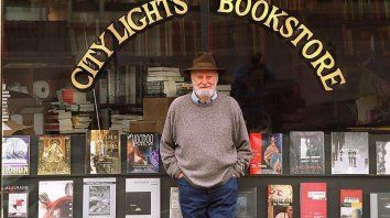 Lawrence Ferlinghetti.