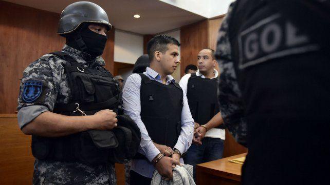 Machuca durante el juicio en el que fue condenado por asociación ilícita y homicidios.