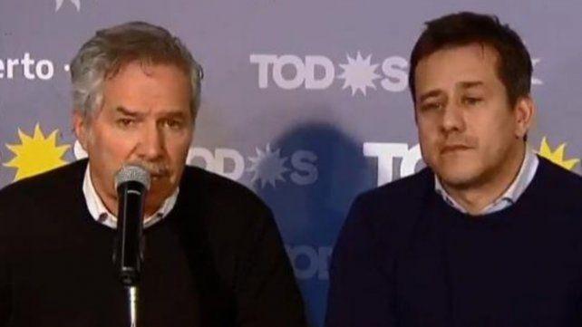 Felipe Solá y Mariano Recalde les pidieron al gobierno que entre los datos del escrutinio.