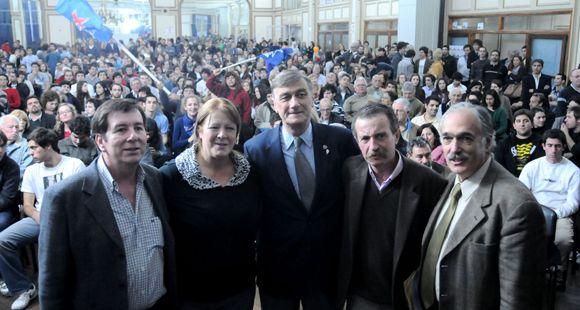 Binner: Venimos a trabajar para que en la Argentina se reconcilien la ética y la política