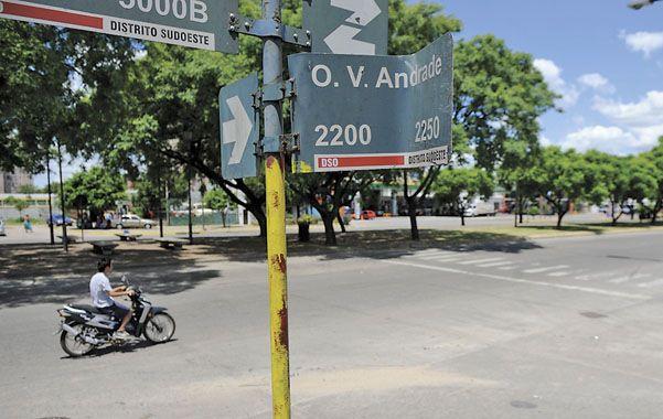 A traición. Eduardo Marcelo Yosti fue atacado por la espalda cerca de la esquina de Oroño y Olegario Víctor Andrade.