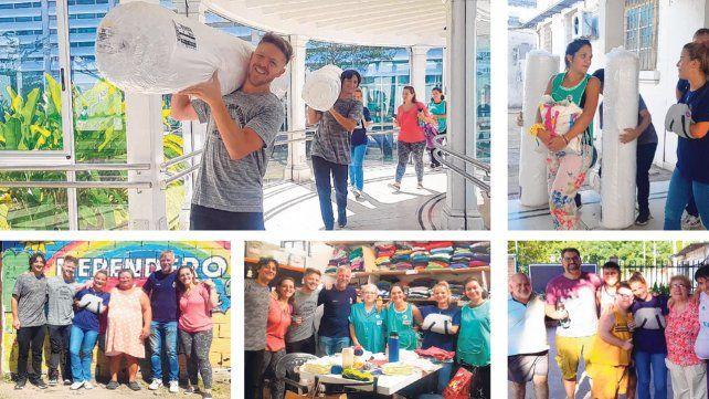 La Campaña Solidaria sigue de gira para ayudar a los barrios