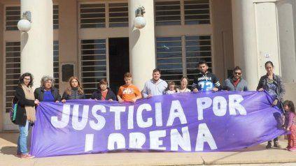 Familiares de Lorena Osuma realizaron varios actos en reclamo de justicia.