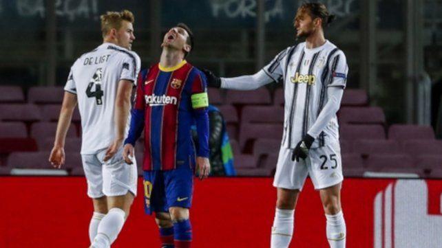El 0-3 significó una derrota personal de Messi y la cesión del primer lugar en la zona para Barcelona.