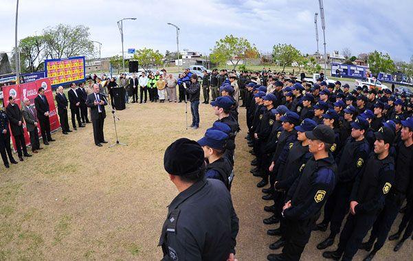 La Policía de Acción Táctica cuenta con 700 efectivos que actúan en diferentes zonas de Rosario.