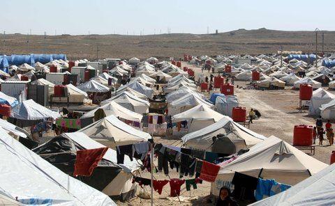 Éxodo. Campamento en Siria de refugiados iraquíes