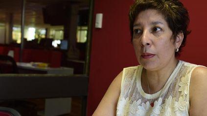 La gobernadora de Río Negro, Arabela Carreras.