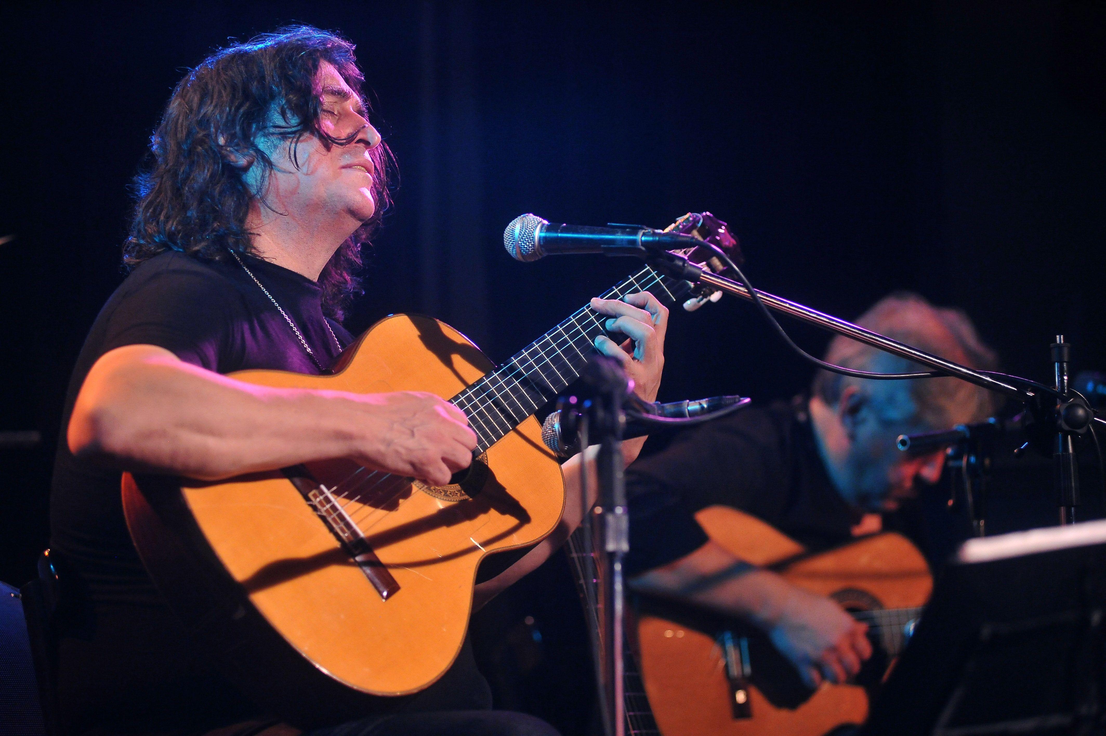 Luis Salinas atraviesa sin prejuicios todos los géneros. Este año volverá a grabar un disco.