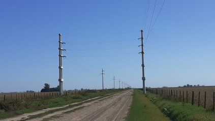 El tendido eléctrico redundará en mejor calidad de servicios para miles de usuarios.