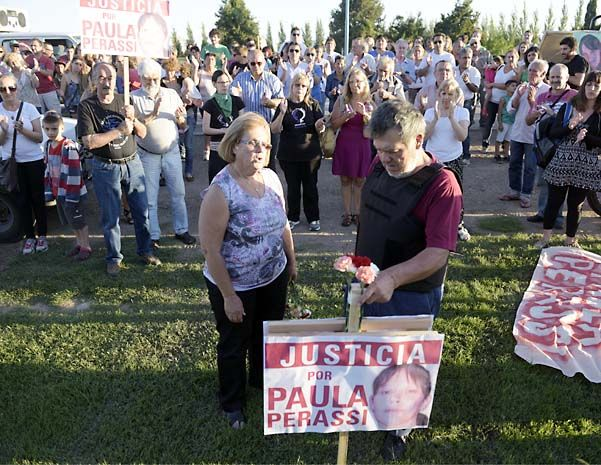 Alberto Perassi y su esposa siguen reclamando justicia por su hija Paula. (Foto de archivo)