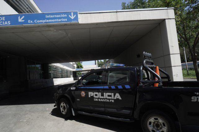 El herido quedó en observación en el Hospital de Emergencias Clemente Álvarez.