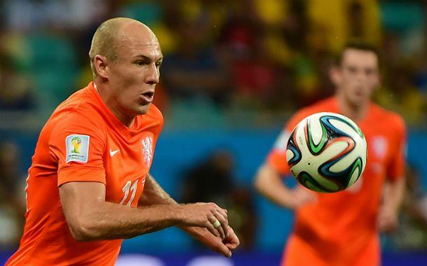 Figura. Robben se destacó como el mejor holandés. Uno de los puntas más desequilibrantes del Mundial.
