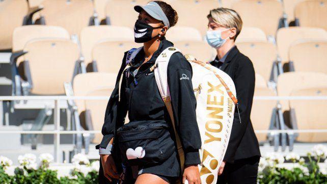Osaka venció el domingo pasado a la rumana Patricia Maria Tig y no participó de la rueda de prensa que impone la WTA