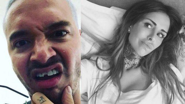 Candelaria Tinelli publicó una serie de fotos que generaron la atracción del cantante.