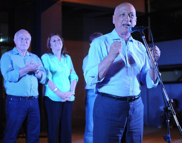 Bonfatti instó a votar por el Frente Progresista. (Foto: H. Rio)