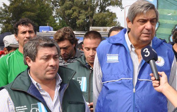 Marcelo Dainotto (derecha)