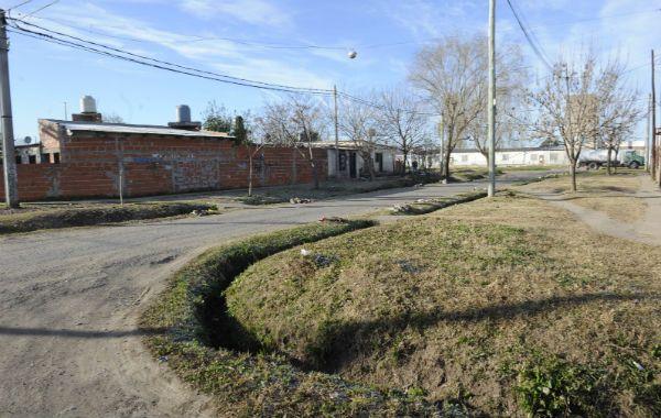 """El lugar. En Julo Vanzo al 8000 le dispararon siete veces a """"Chulín"""" Ferreyra"""