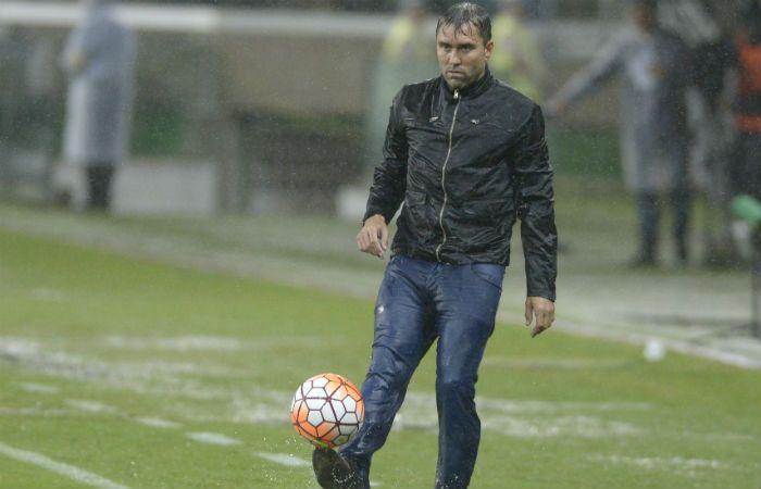 El DT de Palmeiras dijo que Coudet lo increpó durante yv después del partido. (Foto: G. de los Ríos)