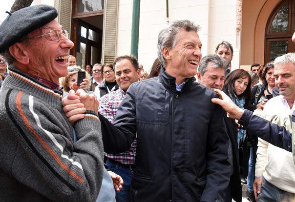 buscando votos. Macri refuerza su presencia en territorio cordobés.