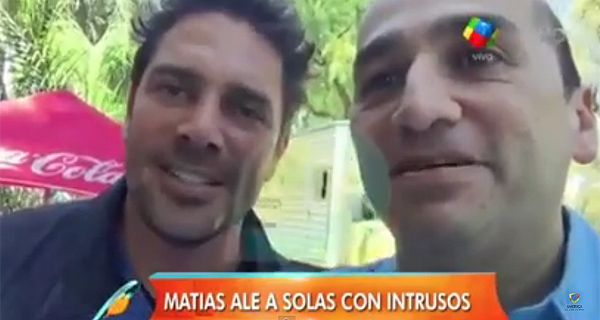Matías Alé habló por primera vez desde que salió de la clínica