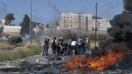 La violencia de la ofensiva israelí también movilizó a los palestinos de Cisjordania. Otro punto a favor de Hamas.