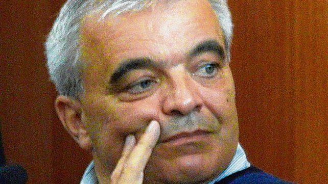Querellante. El comisario Gustavo Pereyra acusó a sus ex jefes.