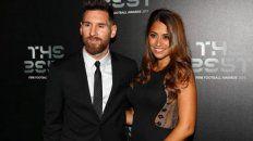 Lionel Messi y su esposa Antonela Roccuzzo.