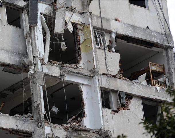 En pocos días comienza la etapa de demolición de las tras torres de Salta al 2100. (Foto: C. Mutti Lovera)