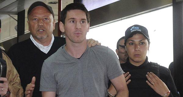 Messi llegó a Ezeiza y al toque entrenó porque el viernes hay que ganar