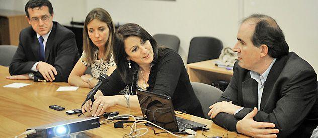 Mónica Fein y Pablo Barese (Planeamiento) presentaron días atrás el nuevo Código