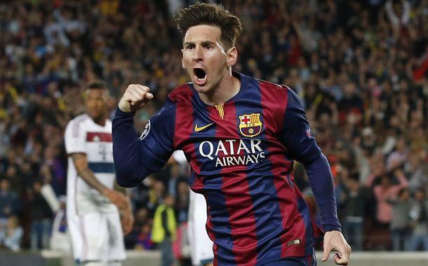 Messi, una máquina de volar