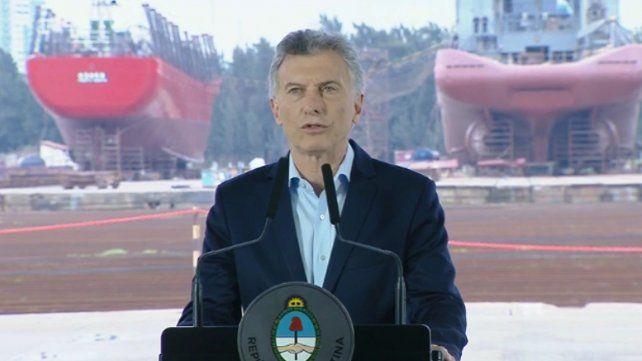 Macri dijo que llegar a la elección de la mejor manera no depende sólo de un gobierno