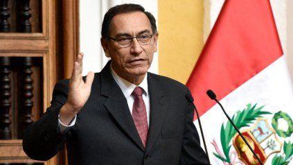 Martín Vizcarra, ex presidente del Perú, fue elegido diputado el domingo pasado con el mayor número de votos. Pero no podrá asumir la banca.
