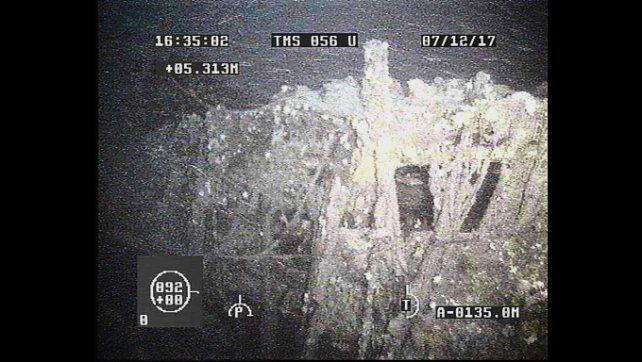 Descartan que dos objetos hallados sean el ARA San Juan y amplían el área de búsqueda
