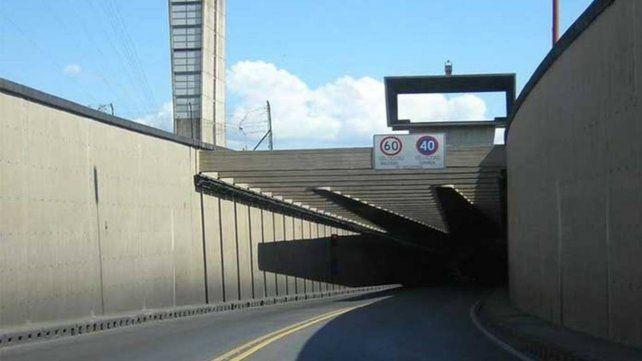 Las restricciones de circulación también alcanzan al túnel subfluvial Santa Fe-Paraná.